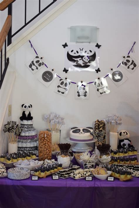 Baby Baby Shower Decorations by Panda Baby Shower Ideas Baby Ideas