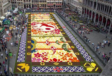 le tapis des fleurs tapis de fleurs 2016 flower carpet