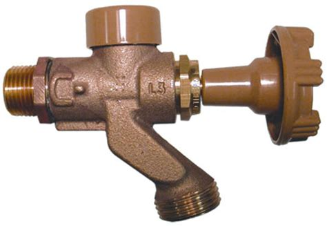 coupled wall faucets