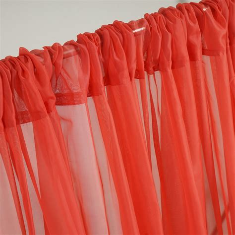 Voile Wedding Backdrop by Voile Backdrop 10x10 Ft Curtain Photo Booth 2 Panels 5x10