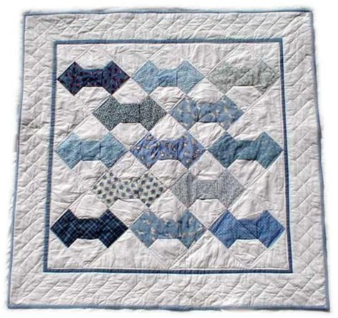 pattern for shirt and tie quilt bow tie quilt pattern quilts pinterest