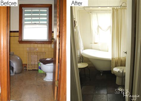 cottage bathroom renovation before and after simplymaggie