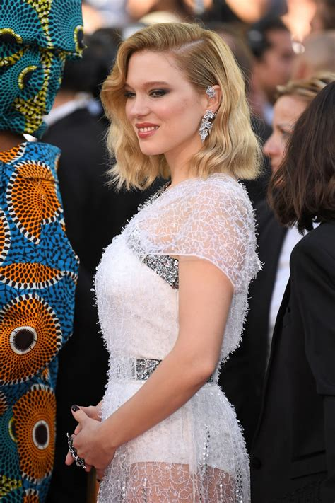 lea seydoux cannes 2018 lea seydoux at everybody knows premiere and opening