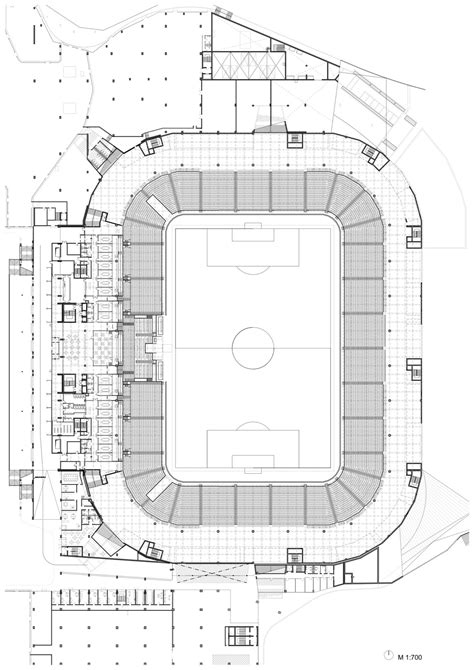 stadium plan gallery of football stadium of sports park stožice sadar