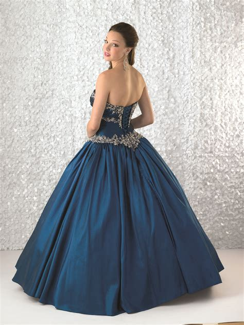 dresses with drapes royal blue ball gown strapless bandage full length