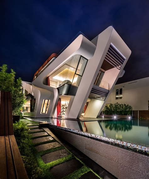 pattern labs singapore mercurio design lab create a modern villa in singapore