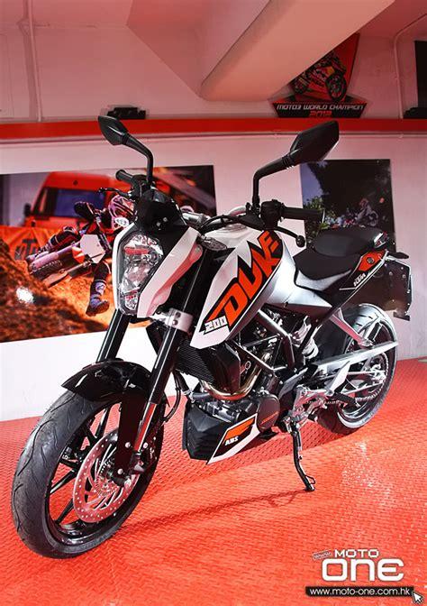 Ktm Duke 200 Abs Review 2013 Ktm 200 Duke Abs版登場 售價不變