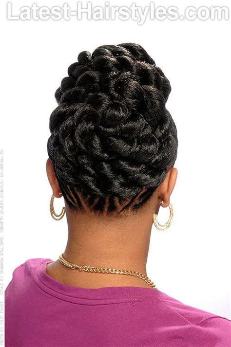 hoods haircutgame goddess braids up into a ponytail 53 goddess braids