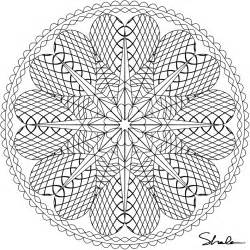 intricate coloring pages for adults difficult mandala coloring pages az coloring pages