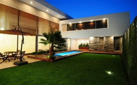 Comfortable Minimalist Garden   Design Ideas for House