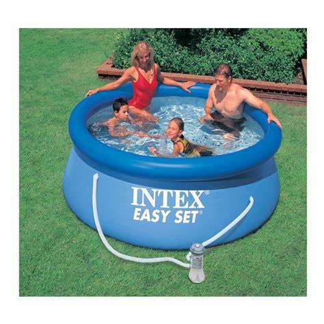 Backyard Pools Toys R Us Intex 2 4m 8ft Easy Set Pool Set Toys R Us Australia