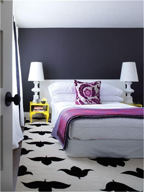 purple black white and silver bedroom not pink and beautiful teen girl bedrooms room design ideas