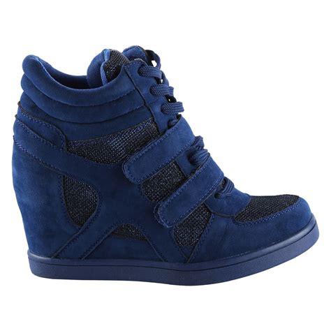 Boot Wedges Gliter Silekat edie womens wedges heels glitter shimmer