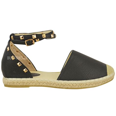 flat shoe with ankle womens espadrilles ankle strappy flat summer