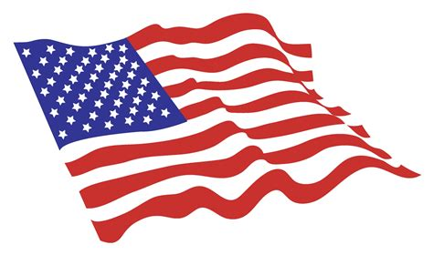 printable american flag clip art american flag free vector 4vector