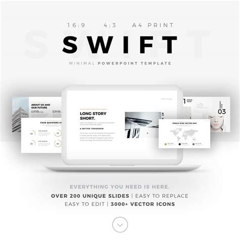 Free Minimal Powerpoint Template Create Your Ppt Easy Ppt Free Templates