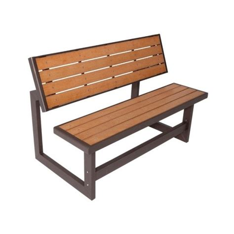 bench kits lifetime faux wood convertible bench kit 60054