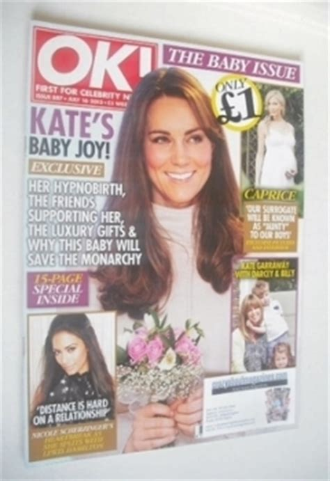 Kate In Magazine I Am A Bit Wacky by Ok Magazine Back Issues Vintage Ok Magazines For Sale