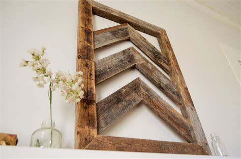 wood decor sale reclaimed chevron wood wall art barn wood home decor