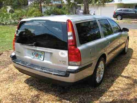 2001 Volvo V70 Wagon Sell Used 2001 Volvo V70 T5 Wagon 4 Door 2 3l 3rd Row