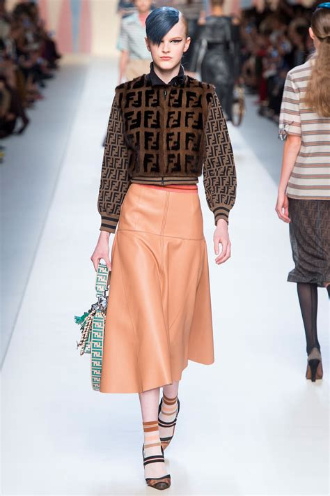 Highfashionliving by Fendi Spring 2018 Rtw Collection High Fashion Living