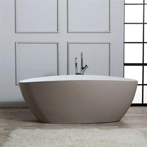 vasche da bagno in resina vasca da bagno freestanding in resina di marmo beige kv
