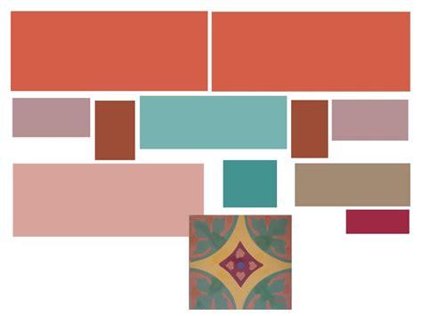 terracotta color palette created  color scheme