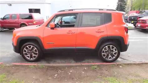 jeep renegade orange 2015 jeep renegade latitude orange redmond seattle
