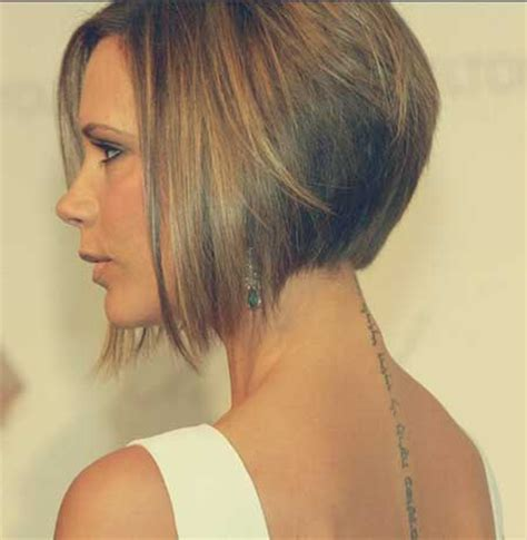 a line haircut front and back short a line bob haircut pictures back