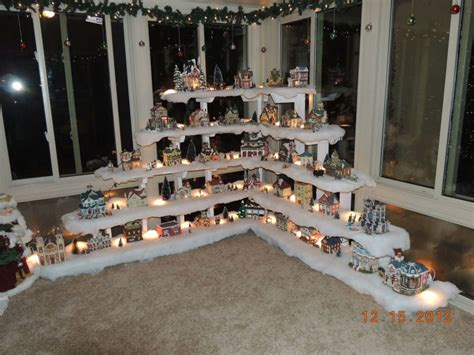 home design image ideas ideas to display christmas village