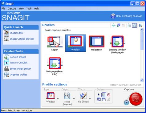 screen capture snagit shareware snagit screen capture