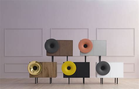 speaker designs caruso music cabinet with a high definition speaker