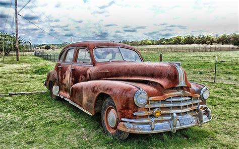 HDR Oldtimer Hintergrundbild   1440x900   Kostenlose Auto