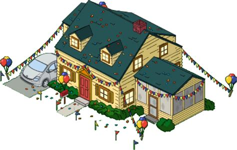 circus griffin house | family guy: the quest for stuff