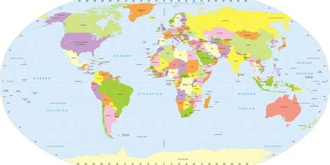 mapamundi fisico politico mapas posters mundo y espa a mapa mundi adesivo grande formato em papel de parede
