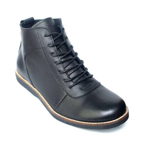 Sepatu Boots Pria Kulit Asli Sultan Original Leather Ch Brown sepatu kulit boots lecies black mall indonesia