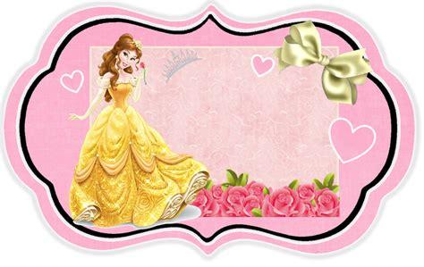 printable belle crown belle free printable invitations cards or photo frames