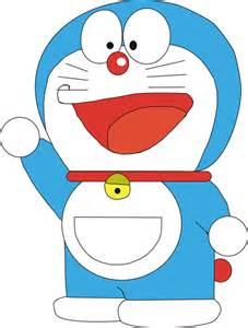 draw doraemon cartoon