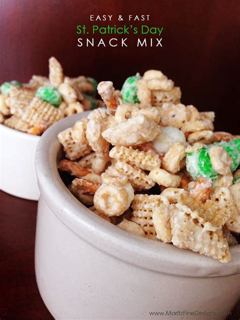 s day snacks easy st s day snack mix st s day treats