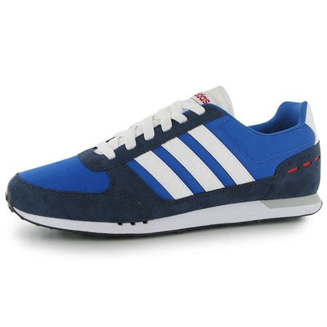 city sports shoes adidas mens city racer trainers ortholite lace up casual
