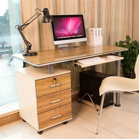 Simple Desks For Home Office Patriarch Computer Desk Desktop Home Office Computer Desk Desk Desk Simple Desk In