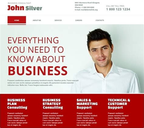 business consulting website templates consulting website templates for your business efficiency