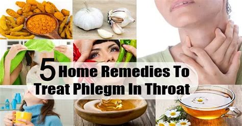 5 easy home remedies to remove phlegm and mucus fast