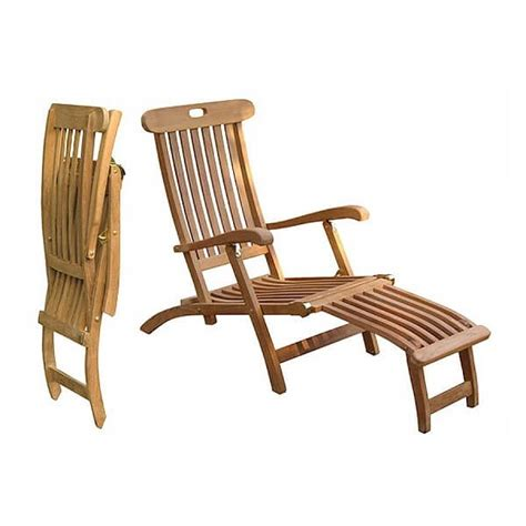 Outdoor Patio Furniture Teak Outdoor Classic Deck Chairs Ktc 033 Indonesian