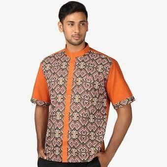 Baju Koko Batik Premium Aa05 Jual Beli Baju Koko Batik Premium Aa05 Diskon Baru Jual