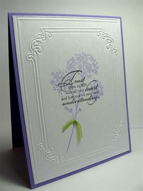Handmade Sympathy Cards Verses - handmade card by sting up bible verse sted