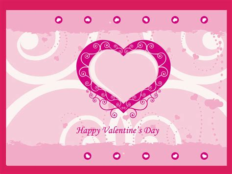 Valentines Day Card Template card template