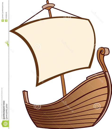 boat drawing cute best hd old boat sail cartoon image vector art library