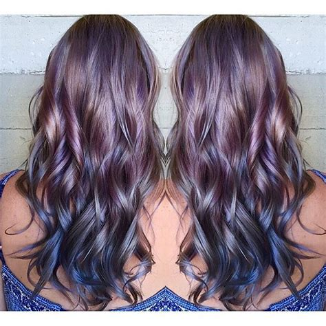 metallic hair color 25 best ideas about metallic hair dye on