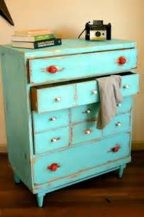 Vintage Bedroom Dressers Dishfunctional Designs Upcycled Dressers Painted